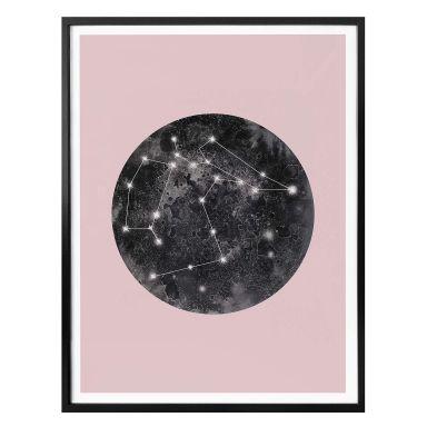 Plakat - Hariri - Constellation Pink