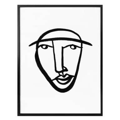 Poster Hariri - Face 08
