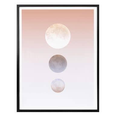 Poster Hariri - Moon Triplet