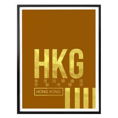 Poster 08Left - HKG Flughafen Hong Kong