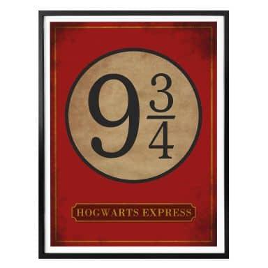 Affiche Hogwarts Express