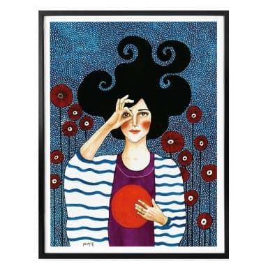 Poster Hülya - Moment des Trostes