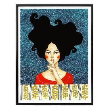 Poster Hülya - Stille