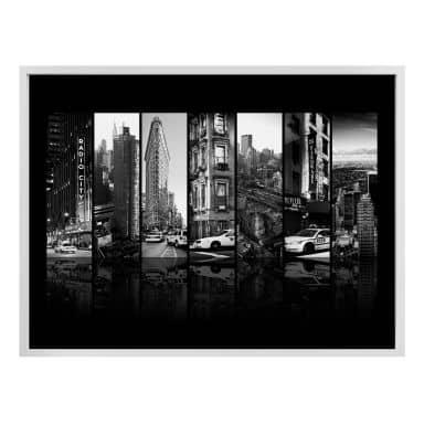 Poster Hugonnard - New York Scenes