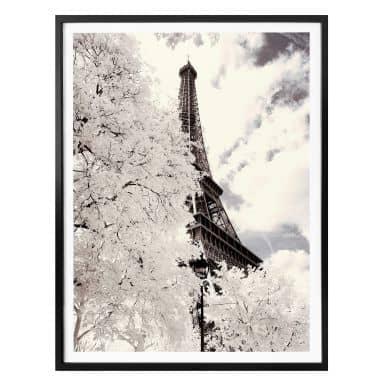 Poster Hugonnard - White Paris
