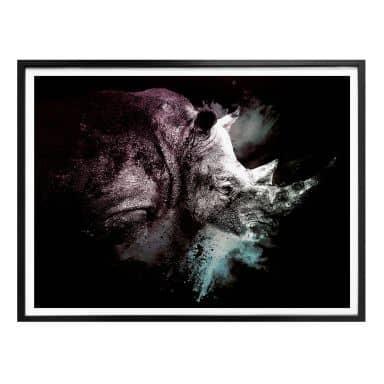 Poster Hugonnard - Wild Explosion: Nashorn