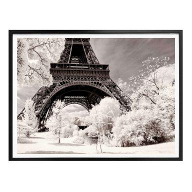 Poster Hugonnard - Winter in Paris