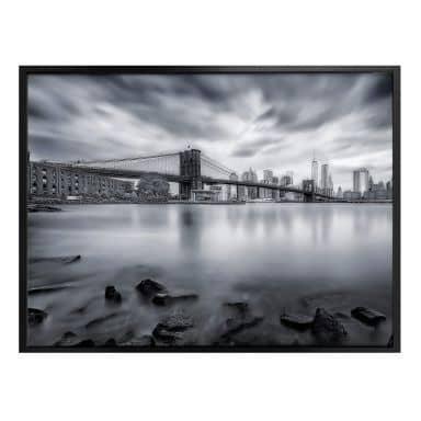Poster Javier - Brooklyn Bridge