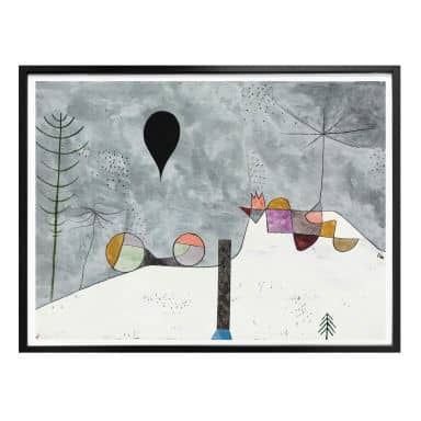Poster Klee - Winter