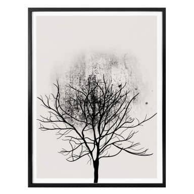 Poster Kubistika - Tree Study 03