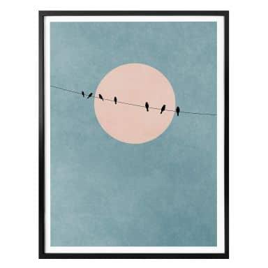 Affiche Kubistika - La beauté du silence
