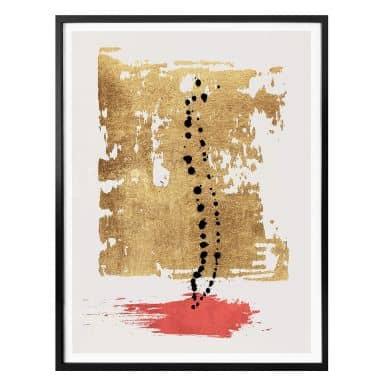Poster Kubistika - Drip Drop