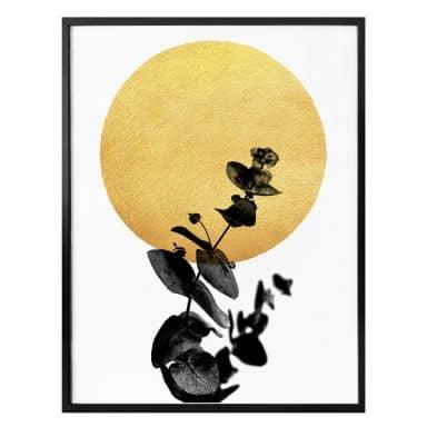 Poster Kubistika - La Vie en rose