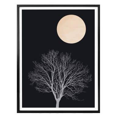 Poster Kubistika - Midnight