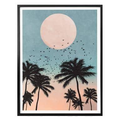 Poster Kubistika - Sunset
