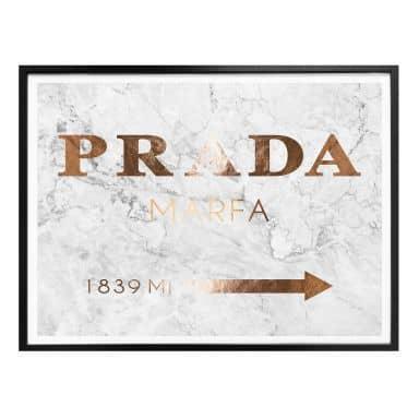 Poster Kupferoptik - Prada Marfa