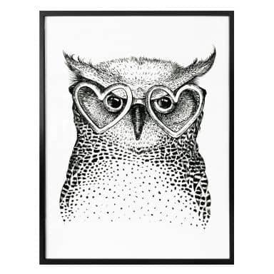 Poster Kvilis – Studious Owl
