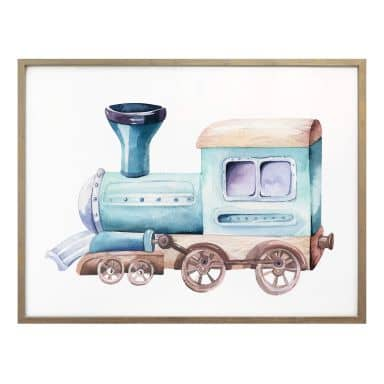 Poster Kvilis - Locomotief