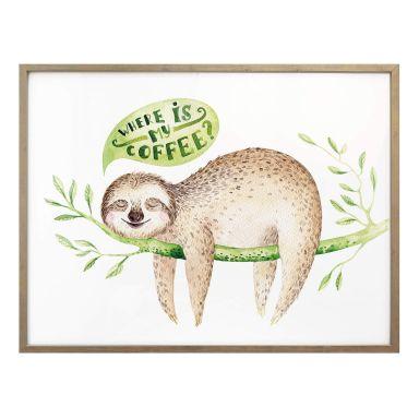 Poster Kvilis – Where is my coffee