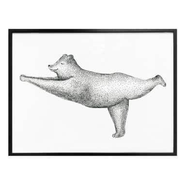Poster Kvilis - Ours Yoga 02