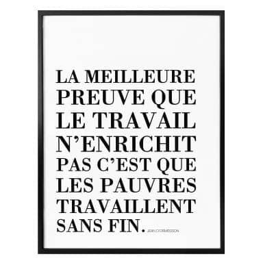 Poster -  La Meilleure Preuve...