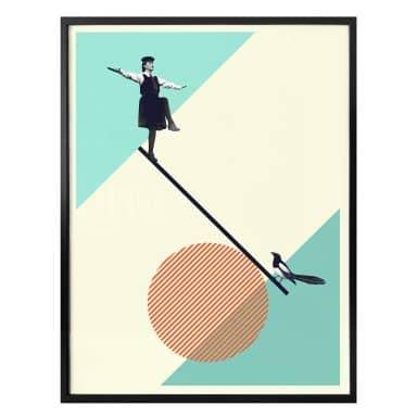 Poster Léon - B is for Balance