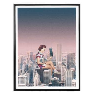 Poster Léon - The hustle