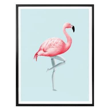 Poster Loose - Flamingo Mannequin