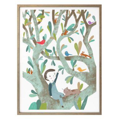 Poster Loske - Im Baum 01
