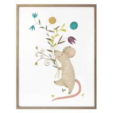 Poster Loske - Kleine Maus