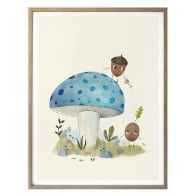 Poster Loske - Naturkinder