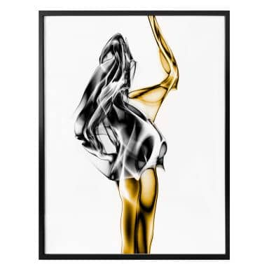 Poster Marini - Gold and Silver