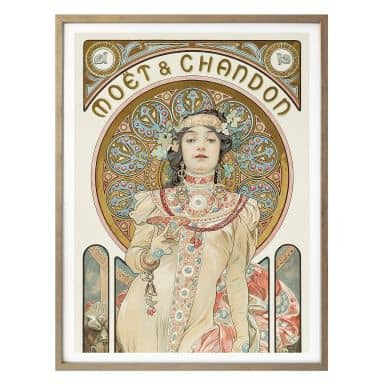 Poster - Mucha - Moët and Chandon: Dry Imperial - Panorama