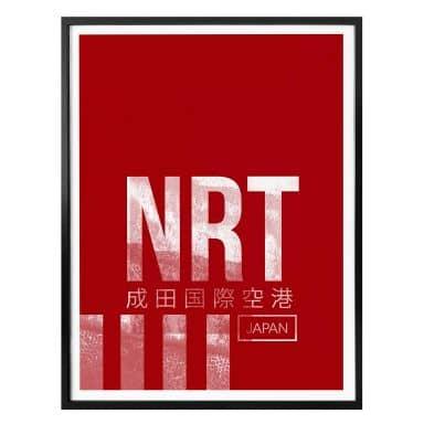 Poster 08Left - NRT Airport Tokyo
