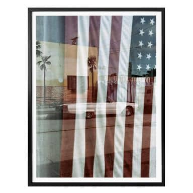 Poster Ochlich - American Reflection