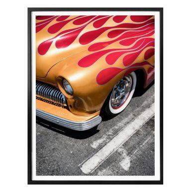Poster Ochlich - Burning Oldtimer