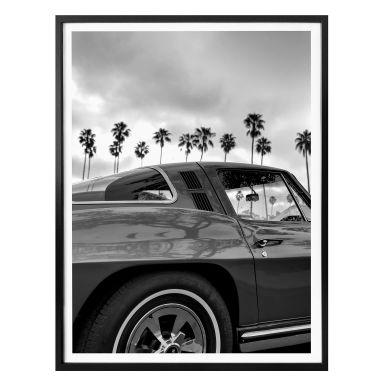 Poster Ochlich - California Oldtimer