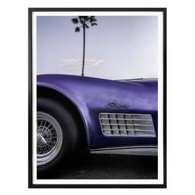 Poster Ochlich - Violet Oldtimer