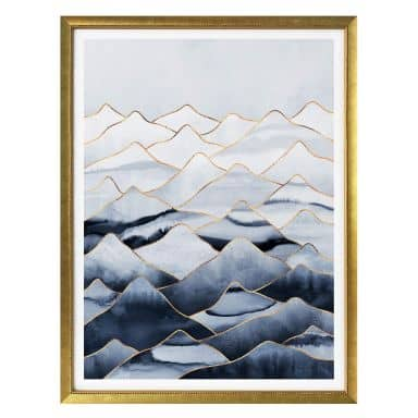 Poster Fredriksson - Die Berge