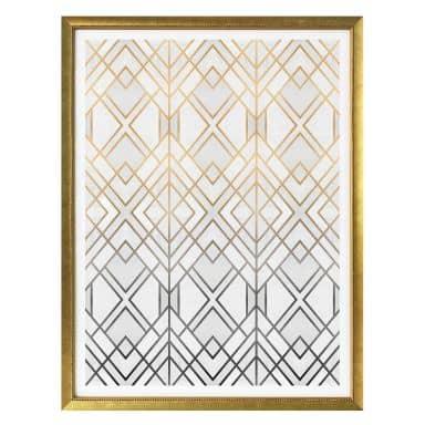 Poster Fredriksson - Gold und Silber