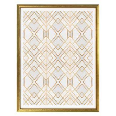 Poster Fredriksson - Golden Geometry