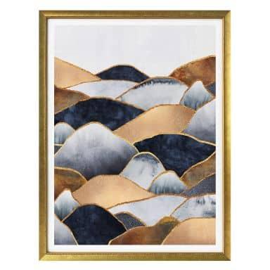 Poster Fredriksson - Goldene Hügel