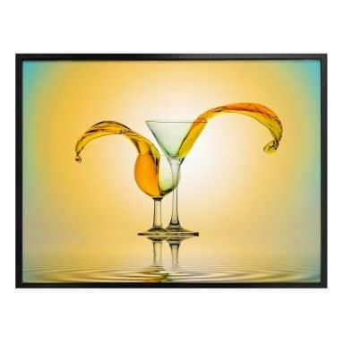 Poster Rahayu - Carribean Cocktails