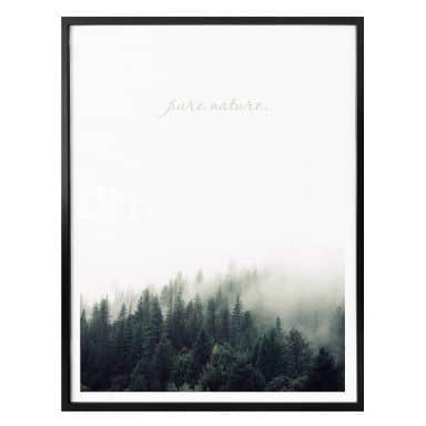 Affiche Pure Nature