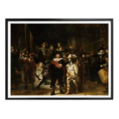 Poster Rembrandt - The Night Watch