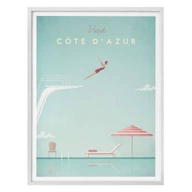 Poster Henry Rivers - Côte d'Azur