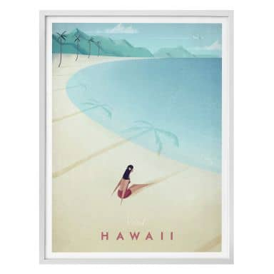 Poster Rivers - Hawaii