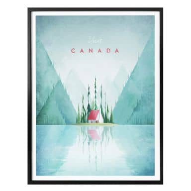 Poster Rivers - Kanada