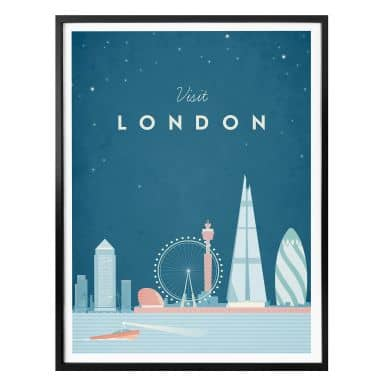 Poster Rivers - London