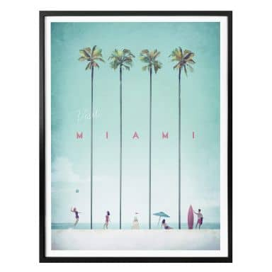 Poster Rivers - Miami